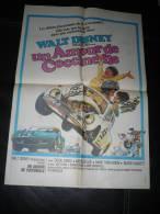 Affiche De Cinéma 40x58 - WALT DISNEY - Un Amour De Coccinelle - Afiches & Pósters