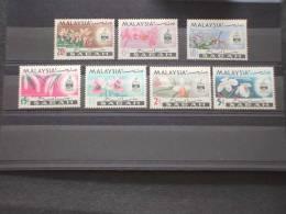 SABAH (MALAYSIA)-1965  PITTORICA/FIORI 7v.-NUOVI(++)-TEMATICHE. - Malesia (1964-...)