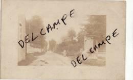 80 SOMME LE RONSSOY RARE CARTE PHOTO 1900 PICARDIE ROISEL - France