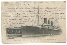 Seine Maritime :   LE  HAVRE ;  L ' Aquitaine   Bateau Paquebot - Le Havre