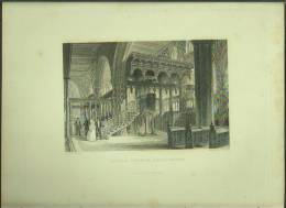 "An 1833 Engraving Of ""Sefton Church, Lancashire"" By 'J W Lowry'. - Prints & Engravings"