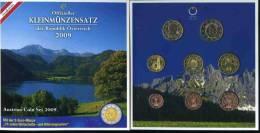 Autriche Austria Coffret Officiel BU 1 Cent à 2 Euro 2009 Dont 2 Euro 10 Ans De L'Euro - Autriche