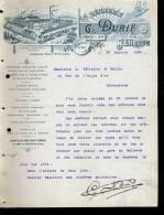 FCT4 Prix Fixe : Loire Saint Etienne Verrerie Durif 1899 - France