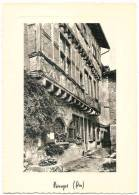 Dépt 01 - PEROUGES - Cité Médiévale - Hostellerie (Mon. Hist. XIIIè S.). CPSM Grand Format - Pérouges