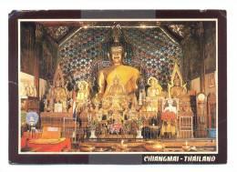 Thaïlande - The Principal Bhuddha Image Of Phratat Doi Sutep Temple, Chiang Mai Province North Thaïland - Tailandia