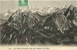 Juill12 903 : Rochers De Naye  -  Alpes Bernoises - VD Vaud