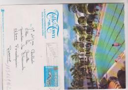 CPM LETTRE EN 2 VOLETS, ARUBA,TALK OF THE TOWN RESORT HOTEL - Antilles Neérlandaises