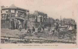 LUC SUR MER ( La Passerelle Et La Digue ) - Luc Sur Mer