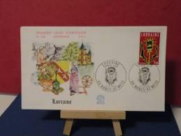 *La Région Loraine . 54 NANCY / 57 METZ  . 10.11.1979.FDC - FDC