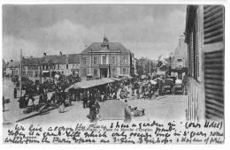 62b28CpaPARIS PLAGE Place Du Marché D´Etaples 1903 - Le Touquet