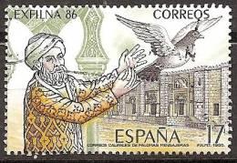SPAIN Edifil # SH 2859 (o) EXFILNA´86 - 1931-Hoy: 2ª República - ... Juan Carlos I
