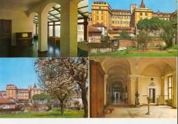 """MONCALIERI,Real Collegio """"CARLO ALBERTO"""" Dei PP.Barnabiti-4 Cartoli Diverse-3 NV-1 Viaggiata Nel 1968- - Non Classificati"""