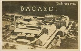 Advert Bacardi Rum Propaganda Ron Bacardi Rhum  Santiago De Cuba Aerial View Edit Bonani - Cuba