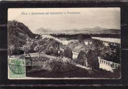 34651    Germania,  Blick  V.  Rolandseck  Auf  Drachenfels  U.  Nonnenwert,  VG - Drachenfels
