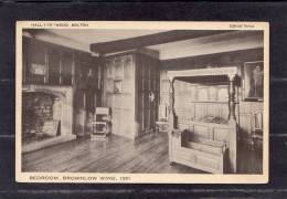 """34652    Regno  Unito,  Hall-i""""th""""-Wood -  Bolton  -  Bedroom  -  Brownlow  Wing  -  1591,  NV - Inghilterra"""
