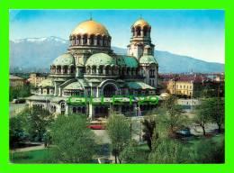 SOFIA, BULGARIA - LE DÔME-MONUMENT ALEXANDRE NEVSKI - ÉCRITE - - Bulgarie