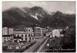 CARRARA - VIA DI CIRCONVALLAZIONE - 1956 - Carrara