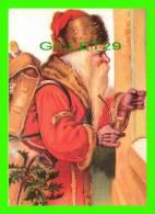 PÈRE NOEL - SANTA CLAUS - ST NICOLAS - ÉCRITE - - Santa Claus
