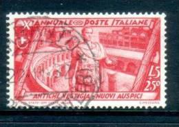 Italia Regno 1932 Marcia Su Roma 5+2,50  Lire Usato- Used SPLENDIDO CON TIMBRO NITIDO - 1900-44 Vittorio Emanuele III
