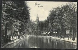GOUDA Haven Veel Volk Verzonden 1906 - Gouda