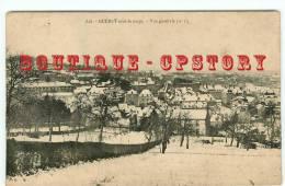 23 - GUERET Sous La NEIGE - Vue Générale - Edition De Nussac N° 828 - Dos Scanné - Guéret