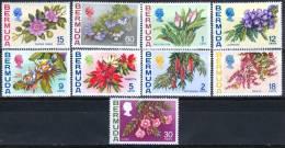 Bermuda 1970 Flowers MNH** - Lot. 1658 - Bermudes