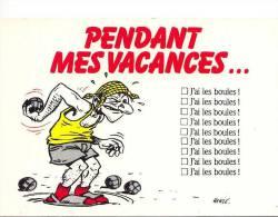 HUMOUR Pendant Mes Vacances...j'ai Les Boules ! - Humour