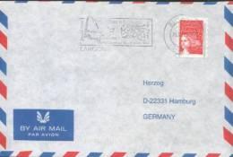 Frankreich / France - Umschlag Echt Gelaufen / Cover Used (d156) - Vins & Alcools
