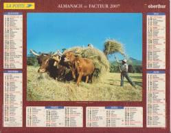 Almanach Du Facteur - 2007 - Poste & Facteurs