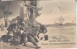 GUERRA ITALO-TURCA - BENGASI-PERICOLOSA PROVVISTA D'ACQUA BELLA  FOTO D´EPOCA ORIGINALE 100% - Other Wars