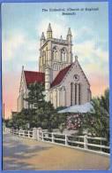 BERMUDA, The Cathedral (CHURCH Of England), 1948, Seltene Schöne Orig.Frankierung, Sondermarke, Sehr Gute Erhaltung - Bermuda