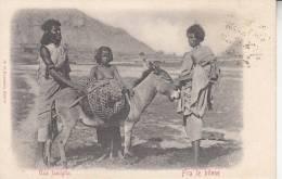 UNA FMIGLIA  FRA LE BILENE  BELLA  FOTO D´EPOCA ORIGINALE 100% - Eritrea