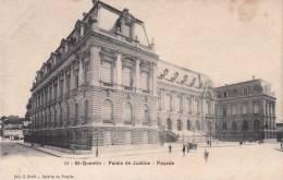 Dép. 02 - St-Quentin - Palais De Justice -  Ed. C. Bloch - Galerie Du Progrès. Simi-Bromure A. Breger Frères. N°14 - Saint Quentin