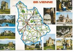 DEPARTEMENT DE LA VIENNE - 86 - Cartes Stéréoscopiques