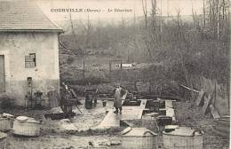 RARE CPA : COURVILLE LE RESEVOIR 51 MARNE - Francia