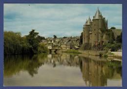 56 JOSSELIN Chateau Dominant Vieux Quartier Et L'Oust - Josselin