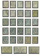 VEND TRES BELLE ETUDE DU TYPE BLANC : VATIETES - NUANCES - OBLITERATIONS, .... !!!! - 1900-29 Blanc