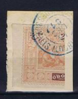 Obock, Yv Nr 53, Couper/halved, Used - Oblitérés