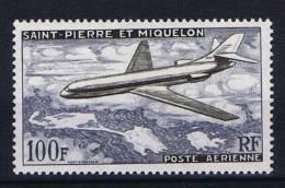 Saint-Pierre Et Miquellon, Yv Nr Aerienne 25 MNH/**, Maury Cv € 30 - Luchtpost
