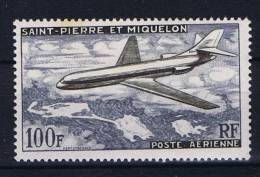 Saint-Pierre Et Miquellon, Yv Nr Aerienne 25 MH/* - Luchtpost