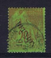 Reunion , Yv Nr 23 Used Obl - Reunion Island (1852-1975)