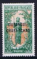 Oubangui Chari Tchad Yv Nr 13 MH/* - Ongebruikt