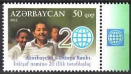 AZERBAIJAN 2012 Co-operation With World Bank - 20, MNH - Altri