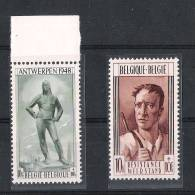 01635 Belgica Yvert 785 - 786 ** Cat. Eur. 75,- - Unused Stamps