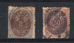 01637 Dinamarca Yvert 19/28A O Cat. Eur. 390,- - 1851-63 (Frederik VII)