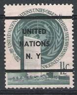 01641 Naciones Unidas New York Yvert 2 A (*) Cat. Eur. 78,- - New-York - Siège De L'ONU