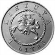 Lithuania 1 Litas 2004 Commemorative UNC / BU Coin 425th Of Vilnius University KM#137 - Litauen