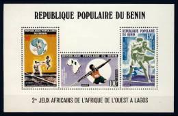 BENIN ( REPUBLIQUE POPULAIRE ) IIème JEUX AFRICAINS DE LAGOS - Giochi