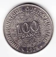@Y@  West Afrika  100 Francs 1978    (C190) - Munten