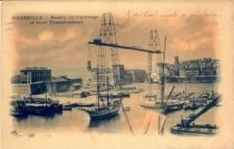 AK Marseille 1930 Bassin Du Carénage Et Pont Transbordeur / Boote Schiffe Segelschiffe / Bateaux Navire Voiliers - Marseille
